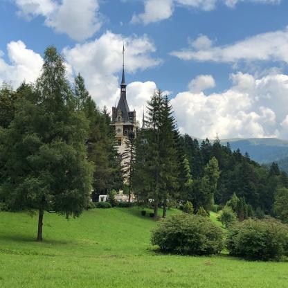 הפארק ליד הארמון
